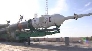 Expedition 53-54 Soyuz Spacecraft Prepared for Launch in Kazakhstan