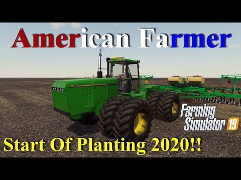 Farming Simulator 19   American Farmer #10   Start Of Planting 2020