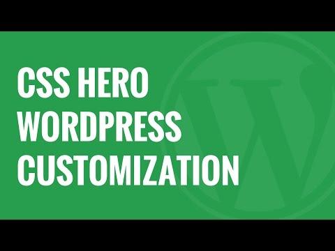 CSS Hero Review WordPress Design Customization Made Easy - 동영상
