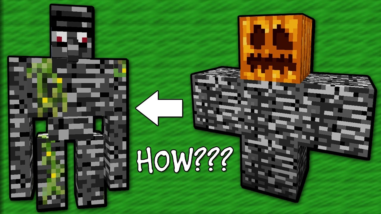 Only 1% of People Can Kill the Bedrock Golem - Minecraft ...