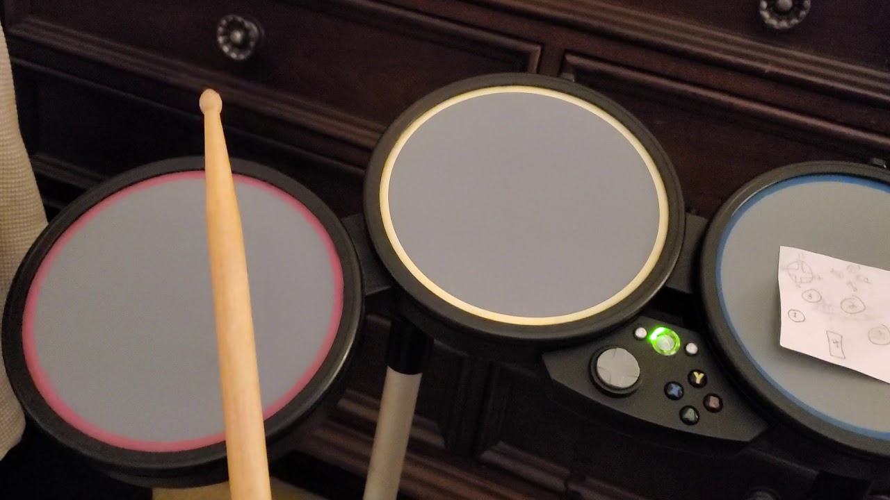 Hacking Xbox Rock Band Drums into Electronic Drums