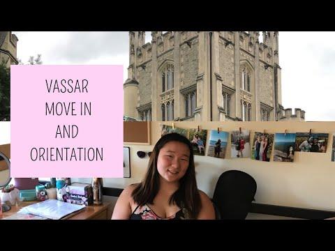 Vassar College Move in and Orientation Vlog 2019