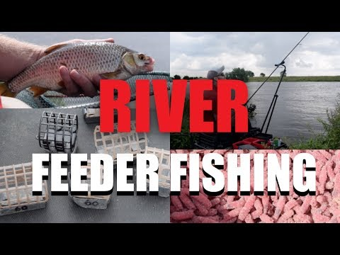 FLOODED RIVER FISHING - FISH RIVERS WITH THE FEEDER -ROB WOOTTON