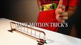 Fingerboard Slow Motion Tricks