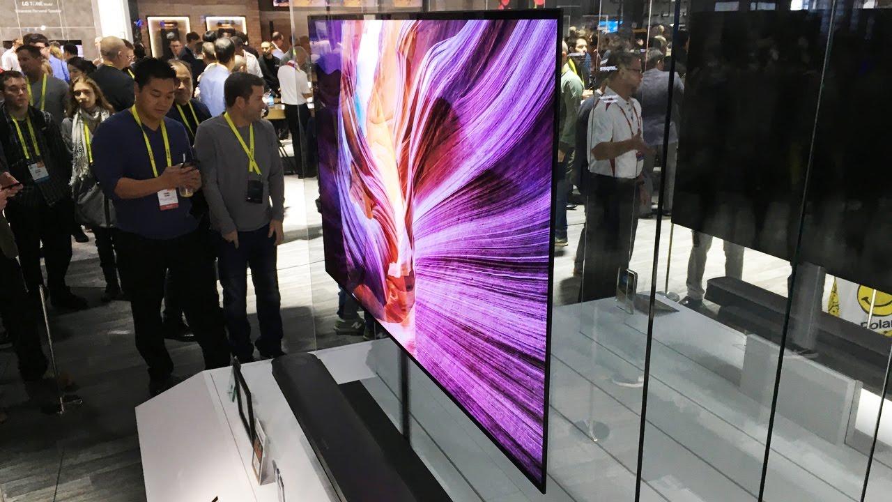 Обзор телевизора-обоев LG W толщина 2, 57 миллиметра