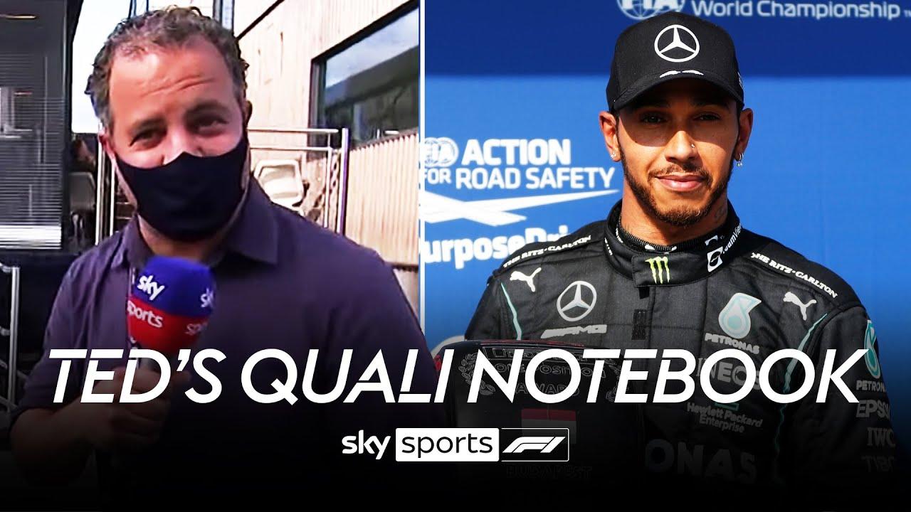 Hamilton being booed, his outlap & Verstappen in 3rd   Ted's Qualifying Notebook   Hungarian GP