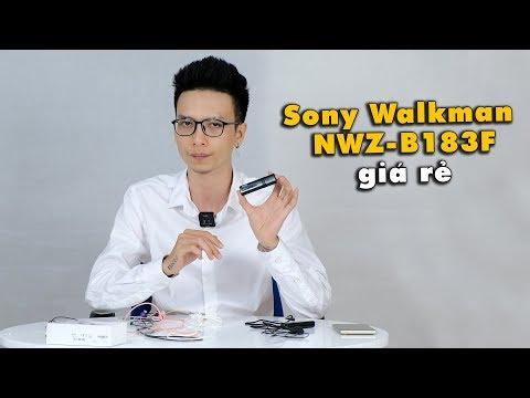 Cộng Deal #1 : Máy Nghe Nhạc Sony Walkman NWZ-B183F Giá Rẻ Cho Mọi Người