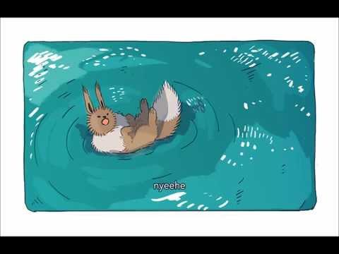 Wild Eevees in their natural habitat (pokemon comic dub)