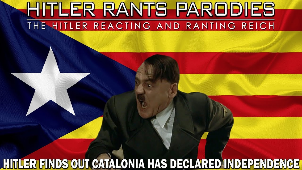 Hitler finds out Catalonia has declared independence