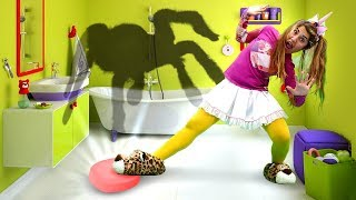 Funny Videos for Kids & Pretend Play Games with My Little Pony Toys: Who Lives Under the Bed?