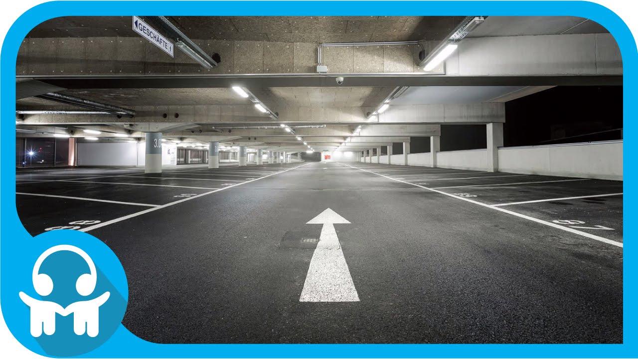 White Noise Car Sounds Empty Parking Lot Youtube