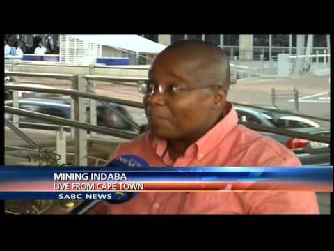 Mamokgethi Molopyane On The Mining Indaba