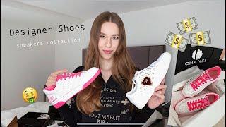 МОЯ КОЛЛЕКЦИЯ ДИЗАЙНЕРСКИХ КРОССОВОК | Chanel, Givenchy, Saint Laurent, Dolce &.... - Видео от Anna Ray
