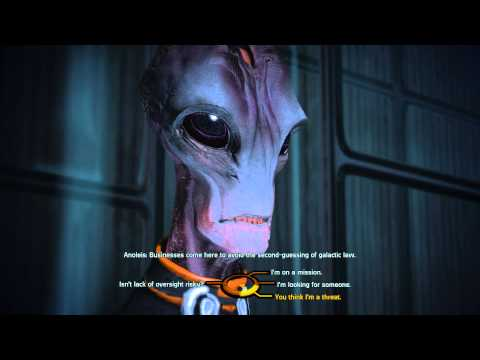 Mass Effect - Having a 'friendly' chat with Administrator Anoleis