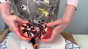 Miten granaattiomena avataan? 3 helppoa tapaa