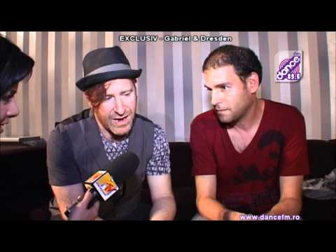 Gabriel and Dresden - Interviu DanceFM - HD