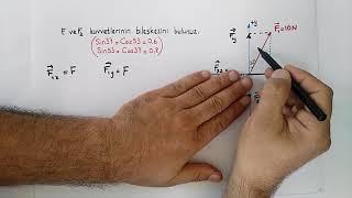 VEKTÖRLER ( Konu anlatımı 2 ) pratik çözümler