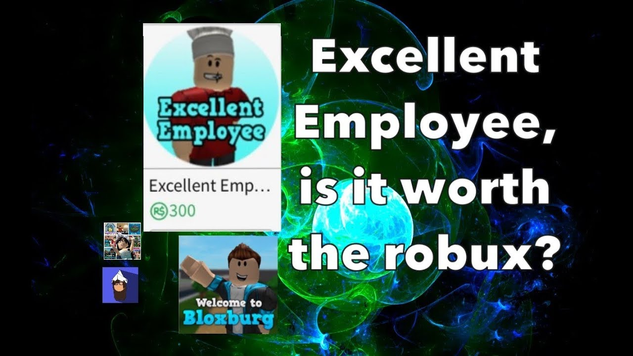 Buying Excellent Employee Gamepass | Bloxburg | Roblox ...