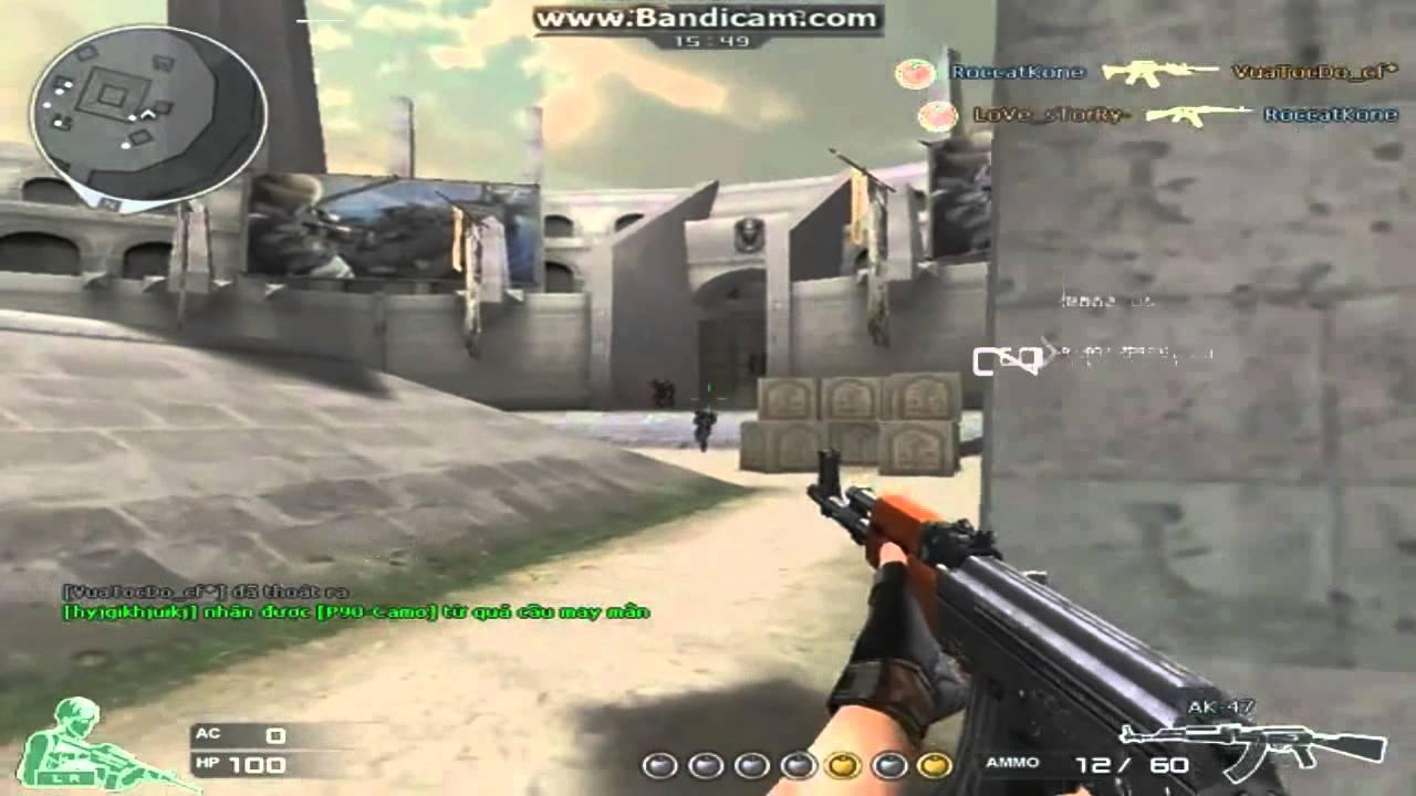 [CF] AK 47 headshot ☆ - YouTube