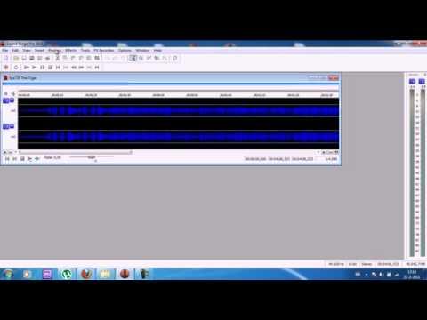 Sound Forge Karaoke Vocal Cut Tutorial