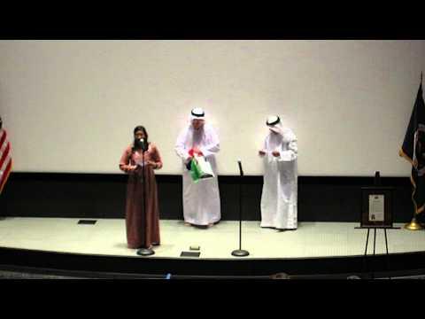 United Arab Emirates - 2010 International Space Camp Opening Ceremony