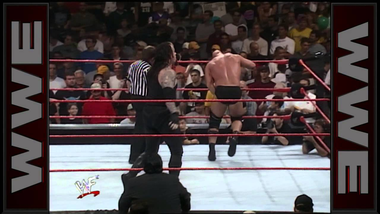 Resultado de imagem para steve austin vs undertaker raw 28-6-99