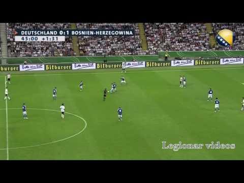 Miralem Pjanic Vs Germany (Deutchland) - HD Highlights 3-6-2010