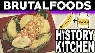 Banana-roll Salad - Retro Recipe Review - brutalfoods