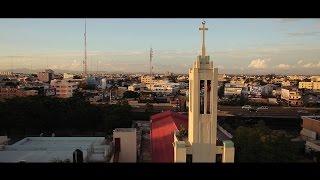 Very Nice Aerial shots SantoDomingo City