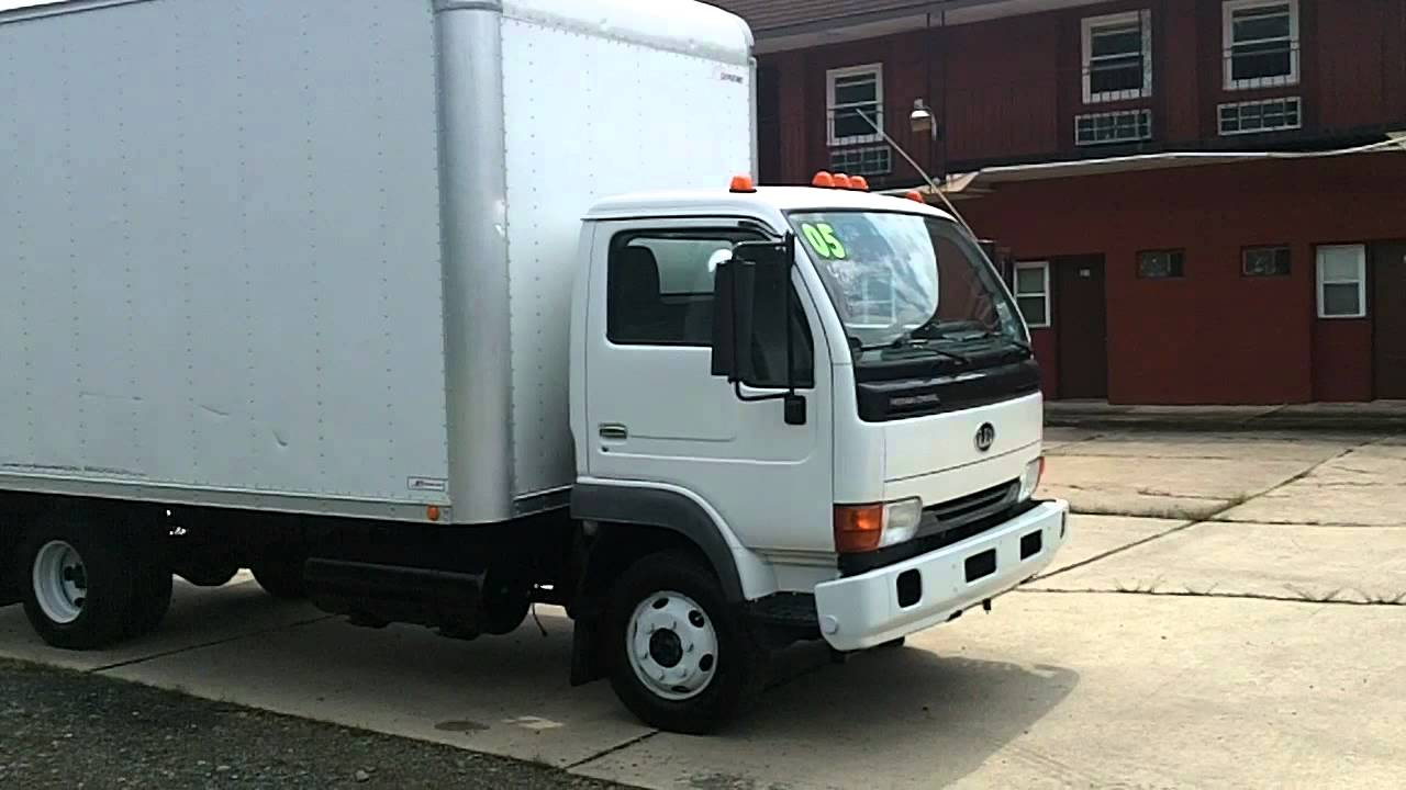 Tatrucks Com 2000 Ud 1400 16 Box Truck Used Youtube