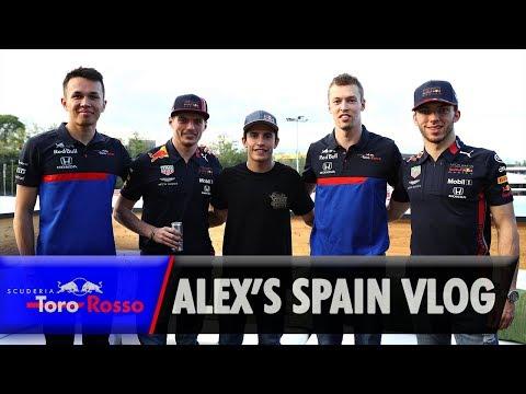 F1 2019: Alex Albon's Spanish GP Vlog