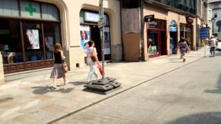 アキーラさん散策!親日国ポーランド・クラクフ旧市街1,Old-city,Krakaw,Poland