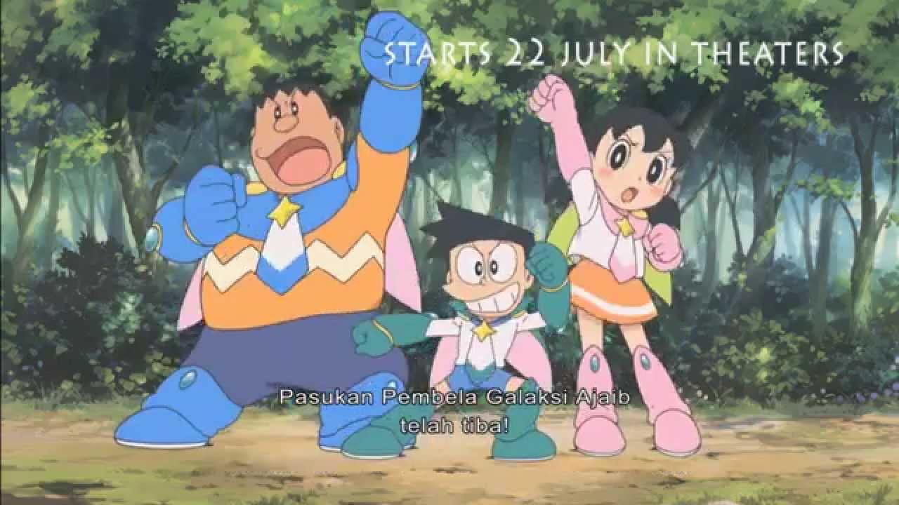 Doraemon Movie : Nobita and The Space Heroes - Indonesia Trailer