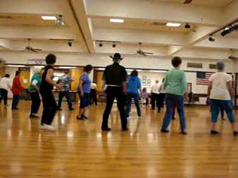 Tennessee Waltz Surprise ( Line Dance ) With Music.wmv