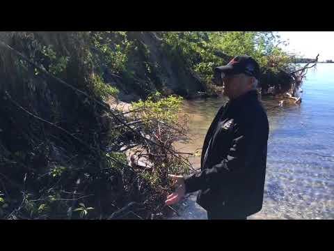 High water levels damaging Big Sandy Bay