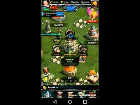 Clash Of Kings- Upgrading To 27 Castle!