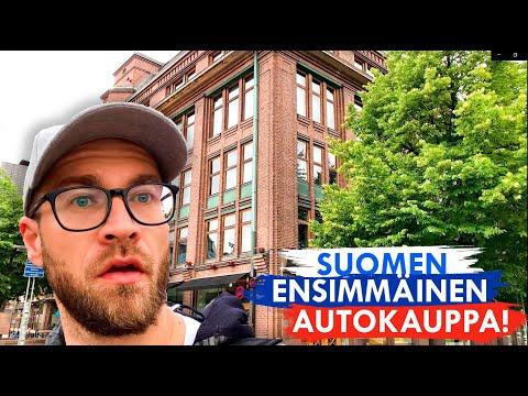 Finland's first car shop I Car PALACE I Helsinki