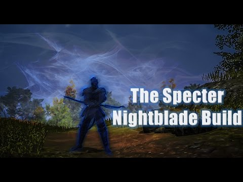 The Specter Nightblade Build for The Elder Scrolls Online Update Six