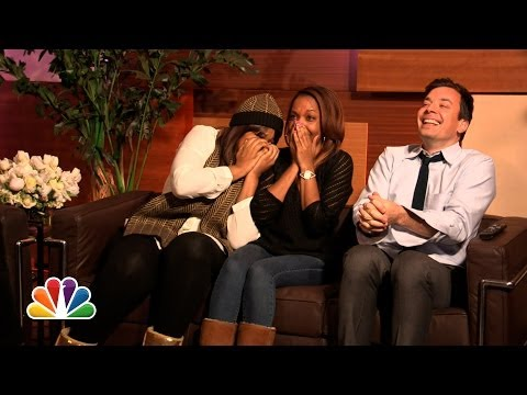 Mariah Carey Surprises Super Fans with The Art of Letting Go (Late Night with Jimmy Fallon)