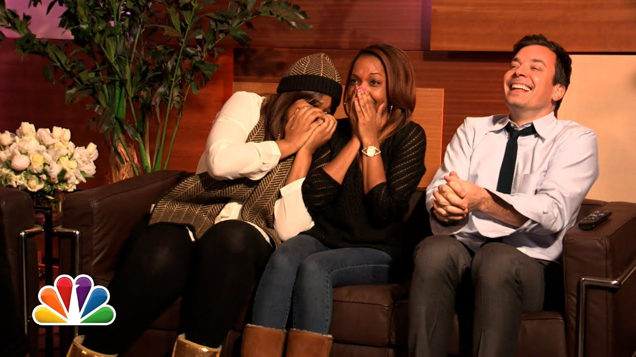 """Mariah Carey Surprises Super Fans with """"The Art of Letting Go"""" (Late Night with Jimmy Fallon) #1"""