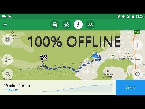 Cea mai buna aplicație de navigație și hărți OFFLINE