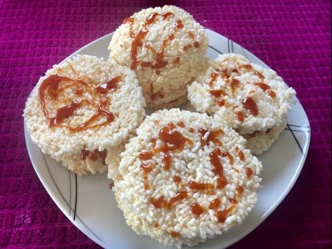 How to make rice cracker ເຂົ້າໂຂບ ( LAO FOOD ) HOME MADE BY KAYSONE