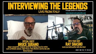 Bruce Sudano Exclusive Zoom TV Interview from Italy