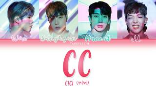 All rights administered by upvote entertainment and genie music • artist: cici (씨씨) song: cc album: released: 190627 translation credit: klyrics.net...