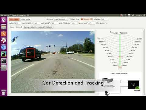 Ainstein Automotive Radar Road Test With Sensor Fusion & Artificial Intelligent Kit