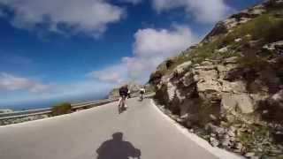 Sa Calobra Descent, Majorca, Spain March 2014