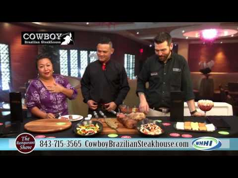 RESTAURANT SHOW | Cowboy Brazilian Steakhouse: Picanha | 10-15-2015 | Only on WHHI-TV