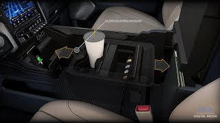 2019 Ram 1500 boasts 151 liters of interior storage