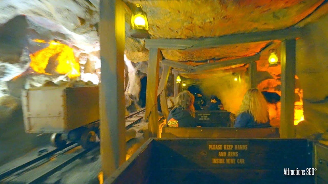 Calico Mine Train Dark Ride | Knott's Berry Farm 100th Anniversary