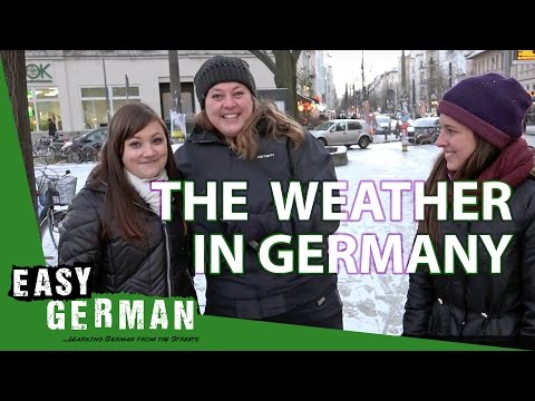 The Weather In Germany | Easy German 177